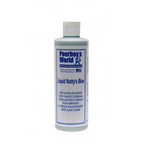 Poorboy's Liquid Natty's Blue Wax 473ml