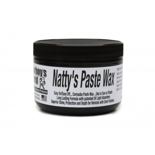 Poorboy's World Natty's Black paste Wax 236ml