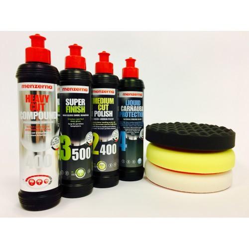 Menzerna 250ml polishing starter KIT