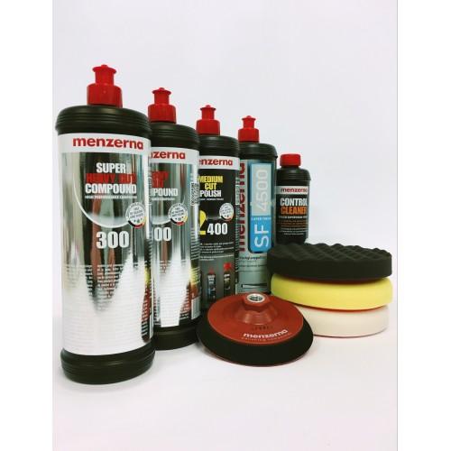 Menzerna 1L polishing starter KIT