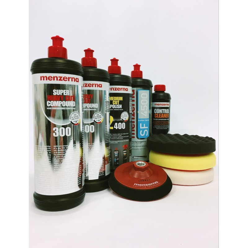 Menzerna 1L polishing starter KIT