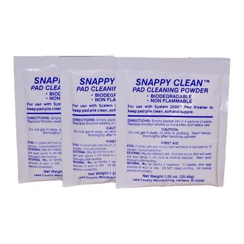 Snappy Clean čistilo v prahu za polirne gobice