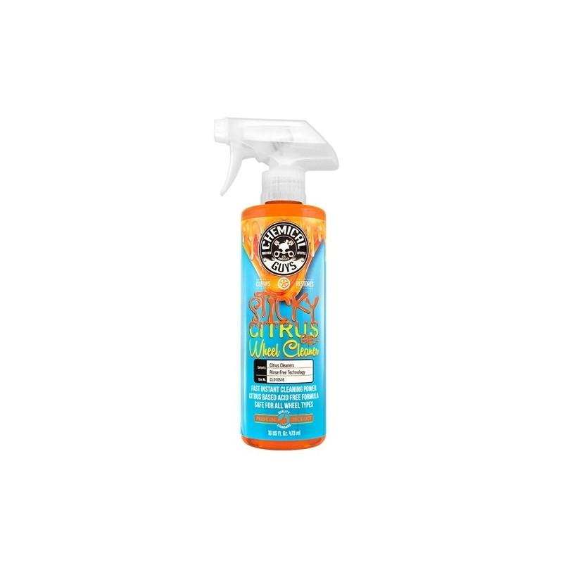 CHEMICAL GUYS STICKY GEL CITRUS WHEEL & RIM CLEANER 473ML