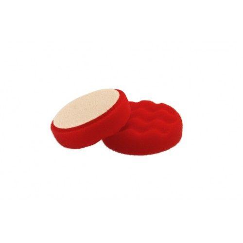 Flexipads gobica za poliranje 80 mm fina rdeča