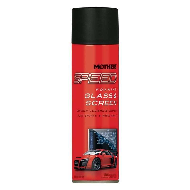 Mothers Speed Foaming Glass & Screen Cleaner 560ml