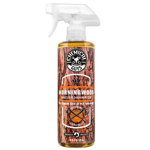 CHEMICAL GUYS MORNING WOOD SCENT AIR FRESHENER & ODOR ELIMINATOR 473ML