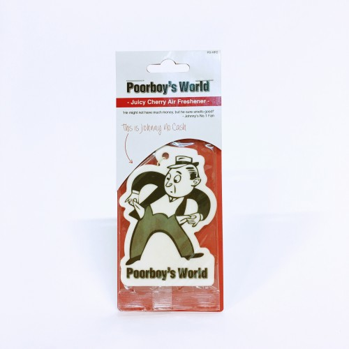 Poorboy's World hanging air freshener cherry