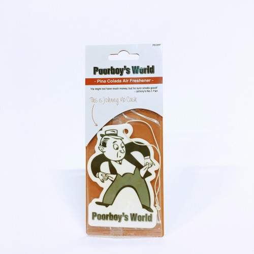Poorboy's World hanging air freshener apple