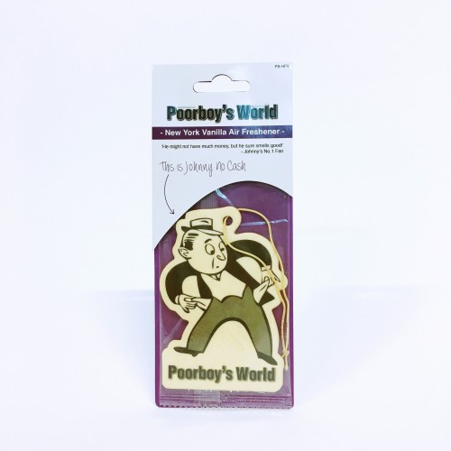 Poorboy's World hanging air freshener vanilla
