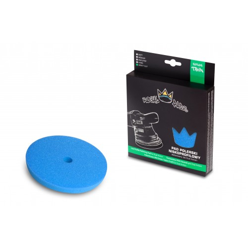 Royal Thin Heavy Cut Pad (Blue) - 150mm
