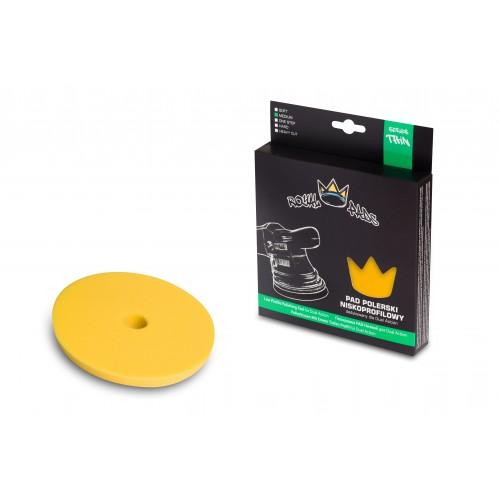 Royal Pads Thin Medium Pad (Yellow) - 130mm