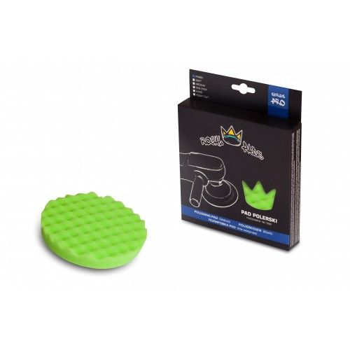 Royal Pads Finish Crown Pad (Green) - 130mm