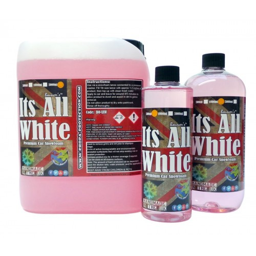 Bouncer's Snowfoam Its All White 1L