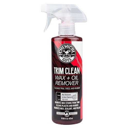 Chemical Guys Trim Clean Wax and Oil Remover for Trim, Tires, and Rubber 473ml