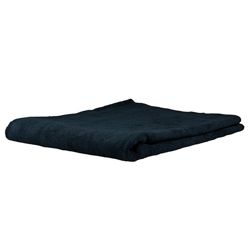 Chemical Guys Elegant Edgeless Microfiber Towel Black