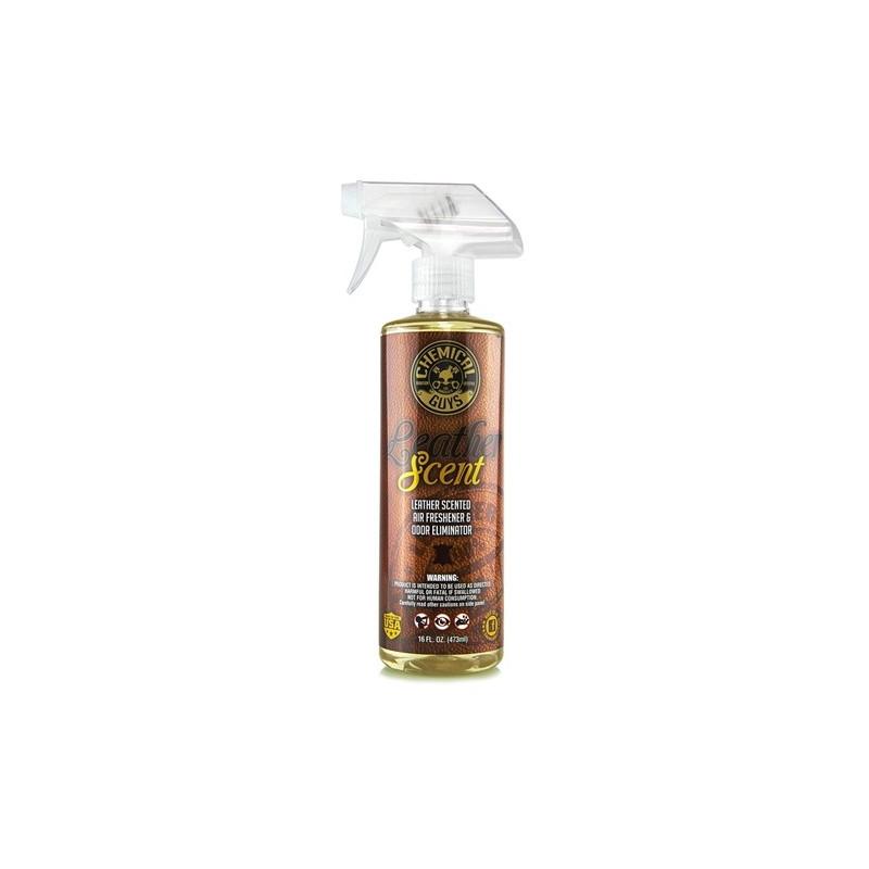 Chemical Guys Leather Scent Smell Air Freshener & Odor Eliminator 473 ml