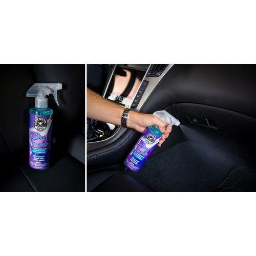 Chemical Guys - Stay Fresh Baby Powder Scented Premium Air Freshener and Odor Eliminator 473 ml