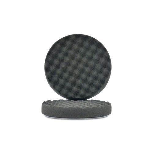 KKD Storm Black Waffle Extra Fine Finishing Pad 150mm