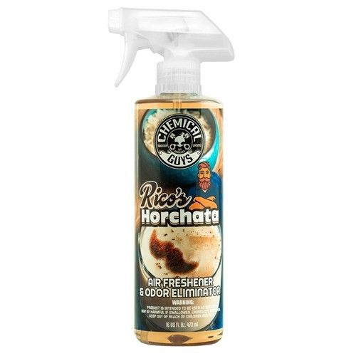 Chemical Guys Rico´s  Horchata Premium Scent Air Freshener & Odor Eliminator 473 ml