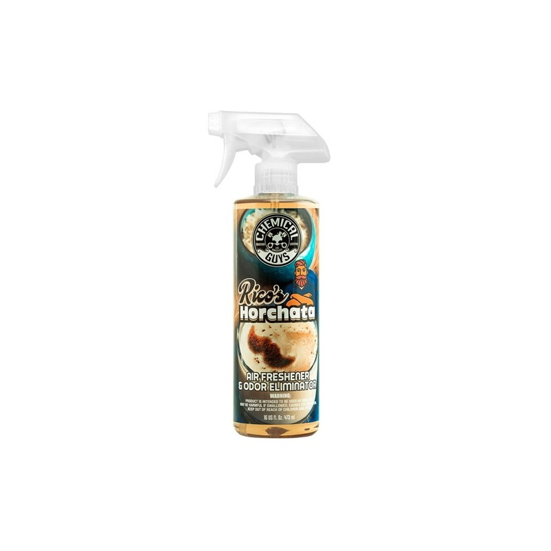 Chemical Guys Rico´s  Horchata Premium Scent Air Freshener & Odor Eliminator 473 ml