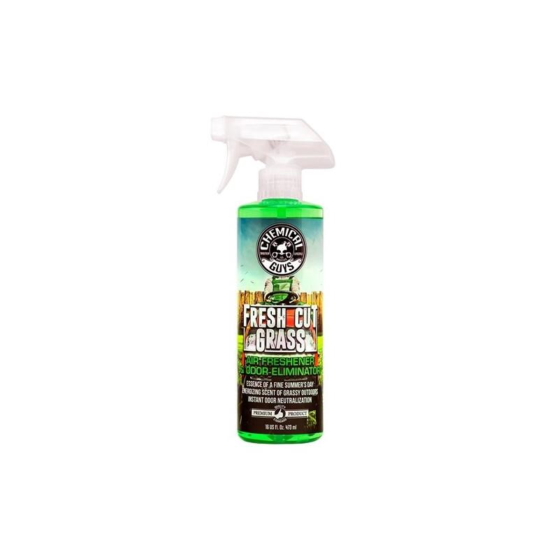 Chemical Guys Fresh Cut Grass Scent Premium Air Freshener And Odor Eliminator  473 ml