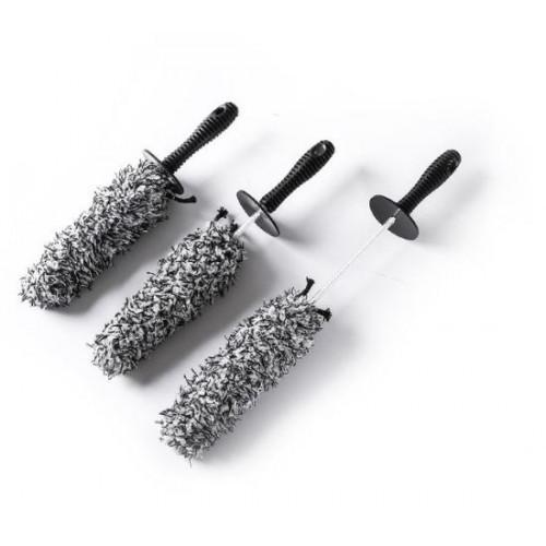 Carshinefactory wheel brush set