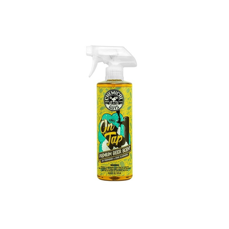 Chemical Guys On Tap Beer Scent Air Freshener Car Perfume 473ml