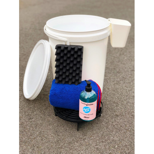 Carshinefactory wash bucket set