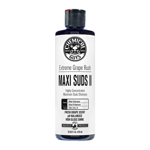 Chemical Guys Maxi Suds II Extreme Grape Rush Car Wash Shampoo 473ml