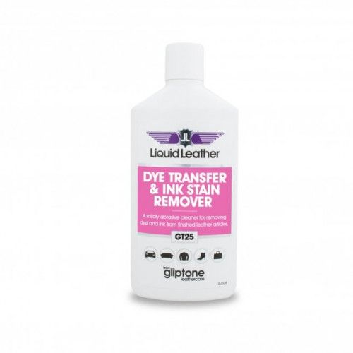 Gliptone Liquid leather GT25 Dye Transfer & Ink Remover 250ML