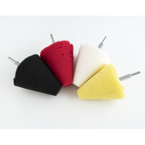 Carshinefactory Cones Yellow/White/Red/Black 100mm