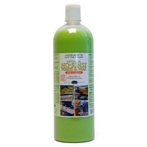 Optimum No Rinse Wash & Wax 236 ml