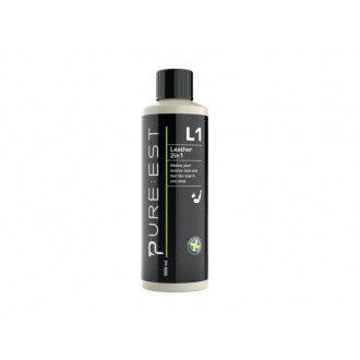 Pure:est L1 Läderrengöring & Skydd Čistilo in zaščita za usnje 500ml