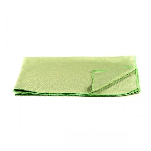 CarShineFactory krpa iz mikrovlaken za stekla zelena 65 x 40 cm