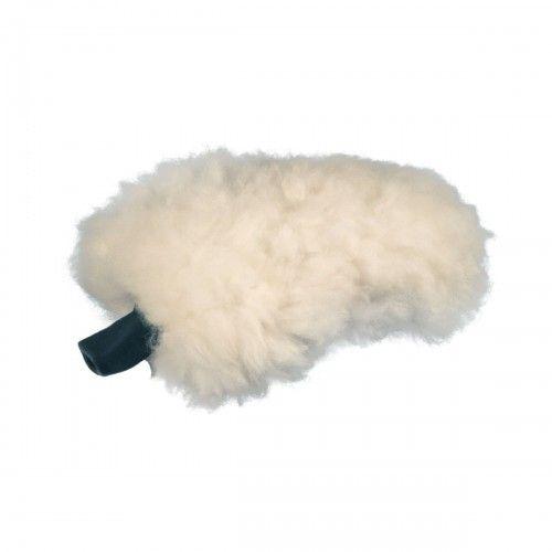 Carshinefactory WHITE POODLE rokavica za pranje