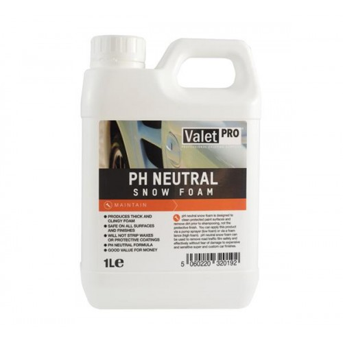 ValetPRO pH Neutral Snow Foam 1 l