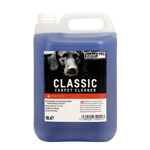 ValetPRO Classic Carpet Cleaner 5 l
