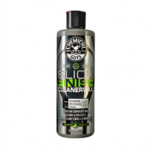 CHEMICAL GUYS SLICK FINISH CLEANER WAX 473 ml