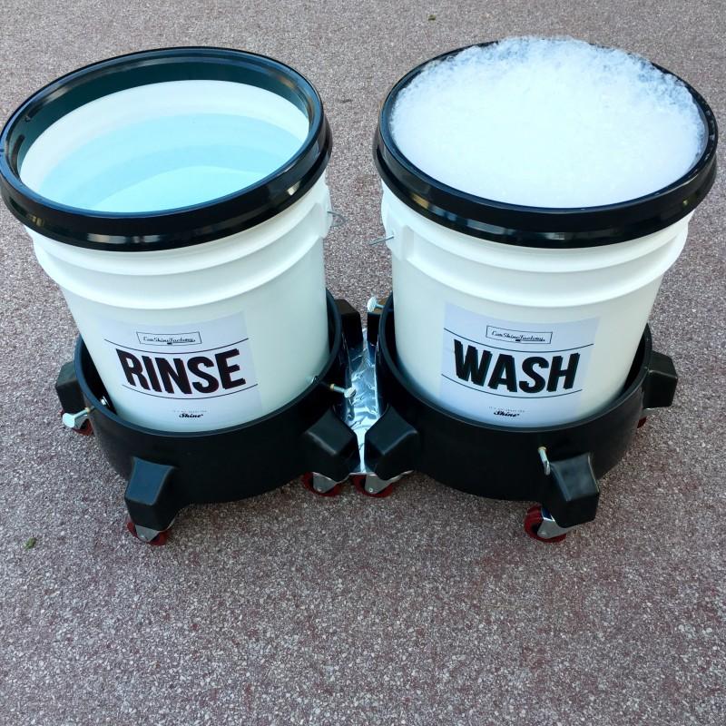 Carshinefactory mobile Rinse&Wash buckets